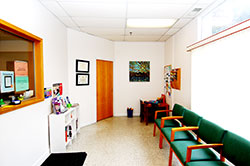 Well Waiting Room at Walden Pond Pediatrics
